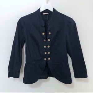 Roz & Ali DressBarn Military Style Blazer Jacket